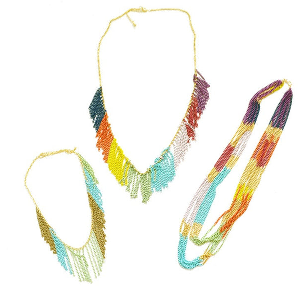 Colorful Chain Necklaces, $12 | Fashion | Light Years Jewelry