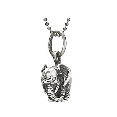 Round Elephant Necklace, $38 | Sterling Silver | Light Years Jewelry