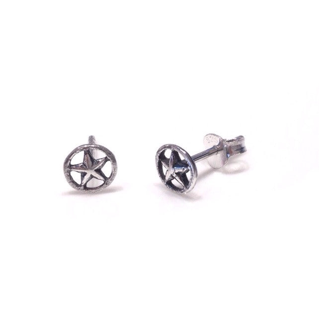 Silver Star Posts, $10 | Sterling Silver Stud Earrings | Light Years Jewelry