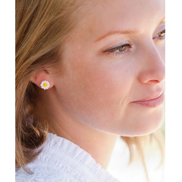 Daisy Posts by Amano | Stud Earrings | Light Years Jewelry