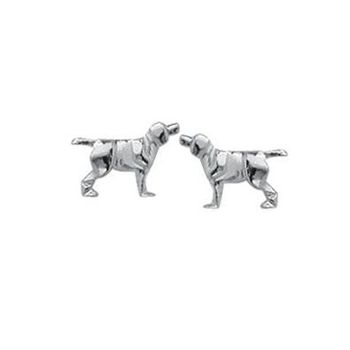 Dog Posts, $8 | Sterling Silver Stud Earrings | Light Years Jewelry