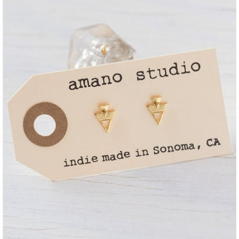 Double Triangle Posts, $18 | Stud Earrings | Light Years