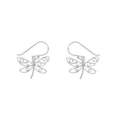 Dragonfly Dangles $22 | Sterling Silver Earrings | Light Years Jewelry