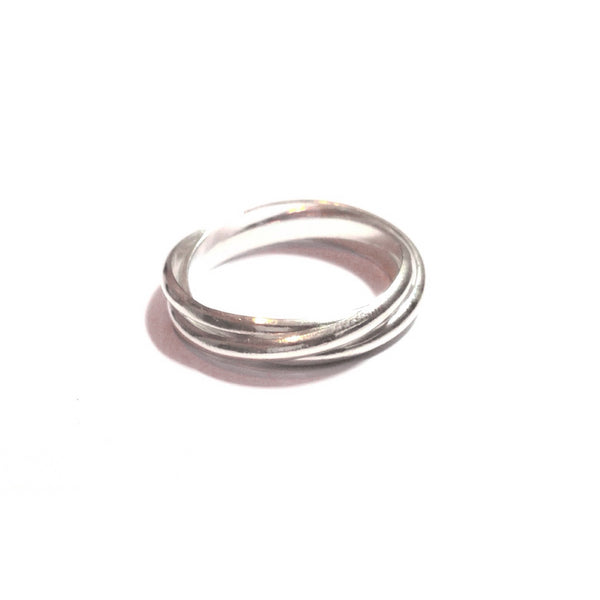 Triple Rolling Ring, $14 | Sterling Silver | Light Years Jewelry