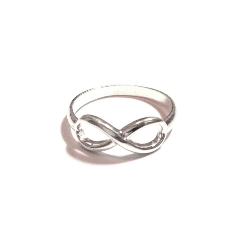 Silver Infinity Ring, $14 | Sterling Silver | Light Years Jewelry