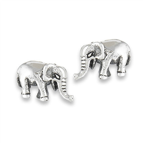 Elephant Posts, $14 | Sterling Silver Stud Earrings | Light Years