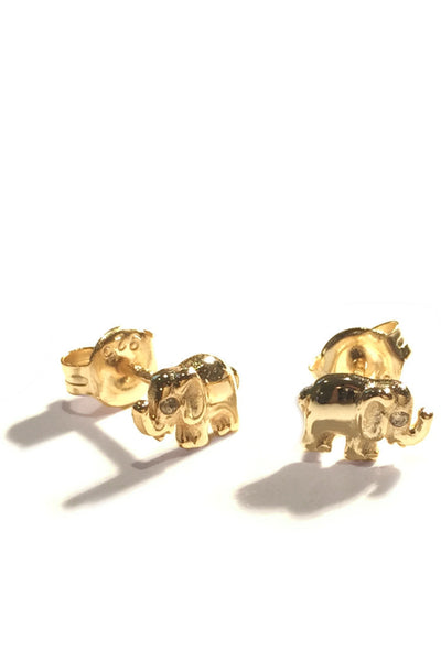 Elephant Posts, $12 | Stud Earrings | Light Years Jewelry