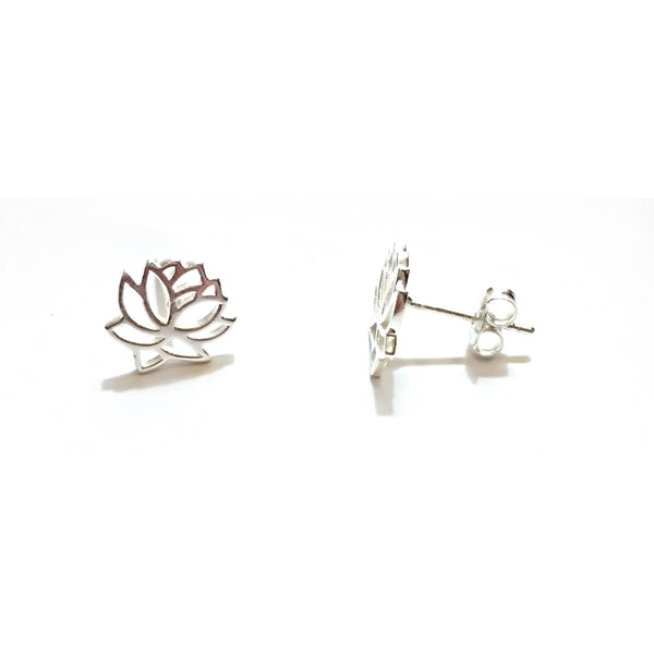 Open Lotus Filigree Posts | Sterling Silver Stud Earrings | Light Years Jewelry