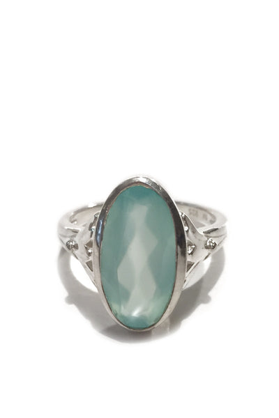 Faceted Chalcedony Ring, $24 | Light Years Jewelry