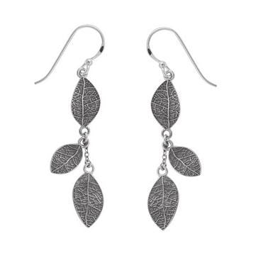 Falling Leaves Earrings, $33 | Sterling Silver | Light Years Jewelry