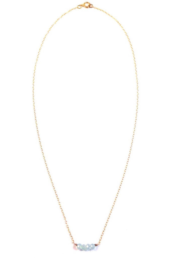 Dainty Necklace with Stones or Beads, $28 | Light Years Jewelry
