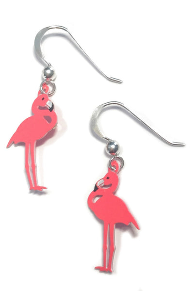 Pink Flamingo Earrings by Sienna Sky, $15 | Sterling Silver | Light Years