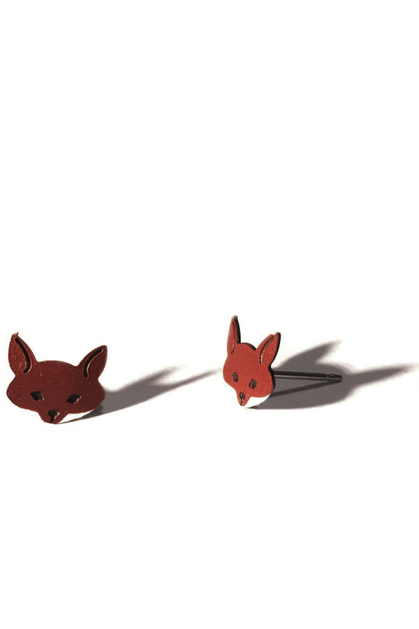 Clever Fox Posts, $15 | Sterling Silver Stud Earrings | Light Years Jewelry