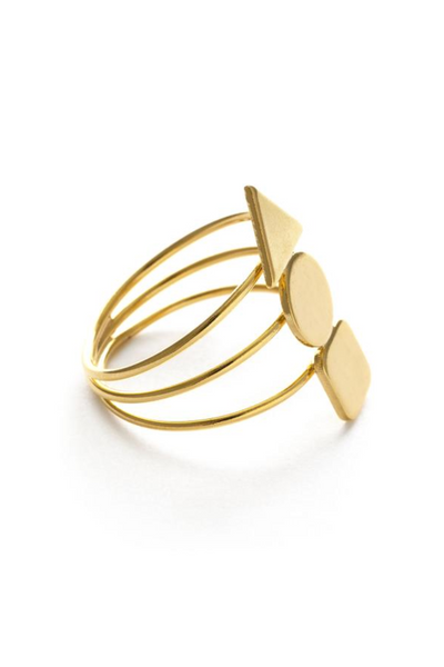Geometric Stack Ring