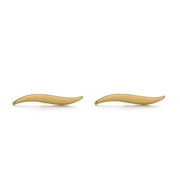 Gold Tilde Posts by Amano, $18 | Light Years Jewelry