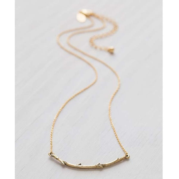 Twig Branch Necklace by Amano, $26 | Light Years Jewelry