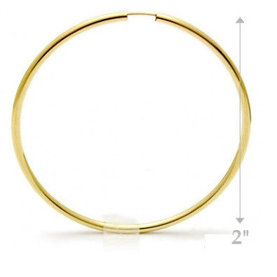 14 kt gold-filled hoops | Various Sizes Available | Light Years Jewelry