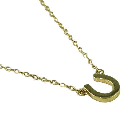 Horseshoe Necklace, $22 | Silver or Gold Plated | Light Years Jewelry