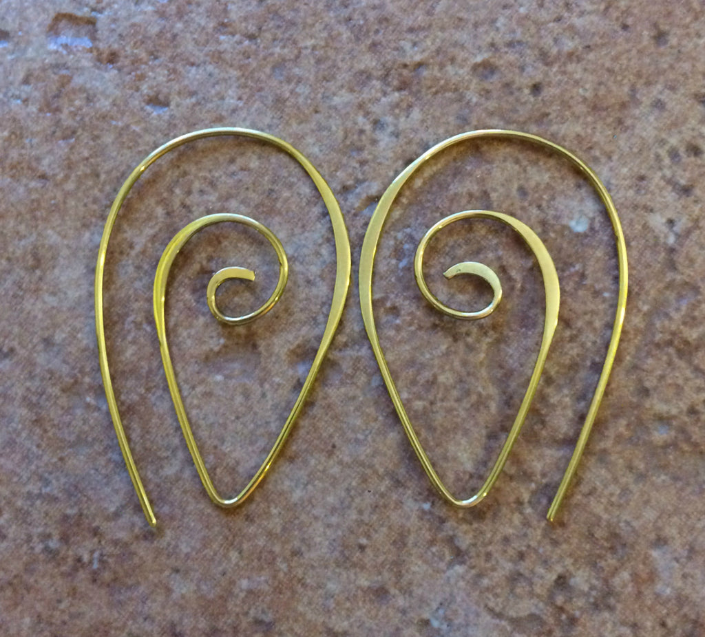 Spiral Spike Earrings, $28 | Gold Fill or Sterling Silver | Light Years
