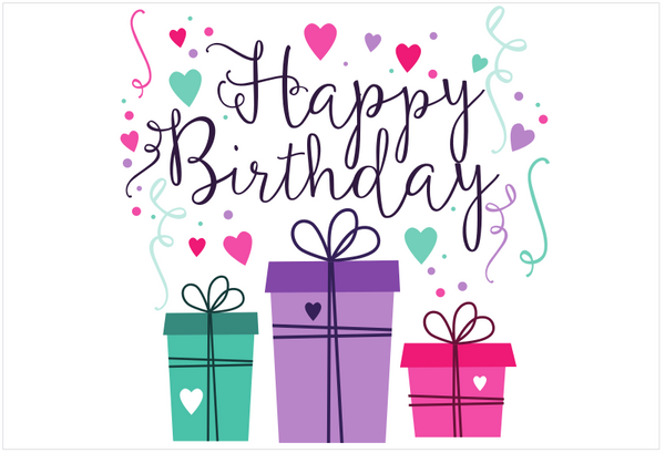 Gift Cards – Happy Birthday Gift Card