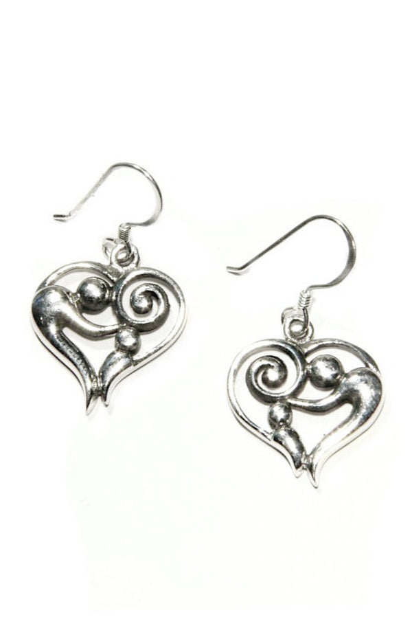 Mother and Child Dangles | Sterling Silver Earrings | Light Years Jewelry