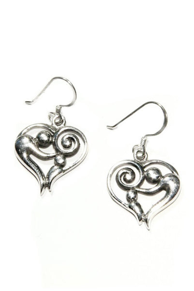 Mother and Child Earrings, $19 | Sterling Silver | Light Years Jewelry