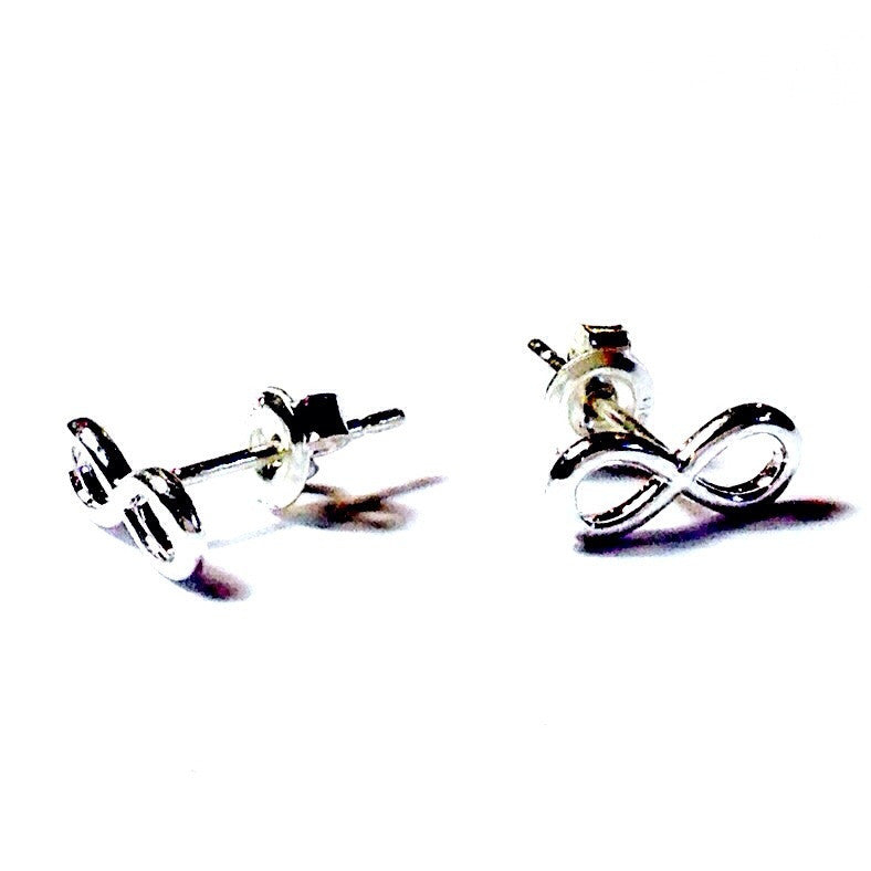 Infinity Posts, $20 | Sterling Silver Stud Earrings | Light Years Jewelry