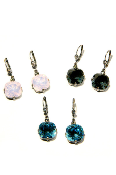 Vintage Crystal Dangles, $48 | Handmade in France | Light Years Jewlery