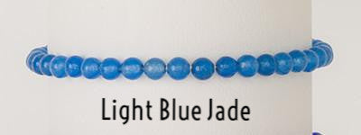 Light Blue Jade | Power Mini Bracelets | Light Years