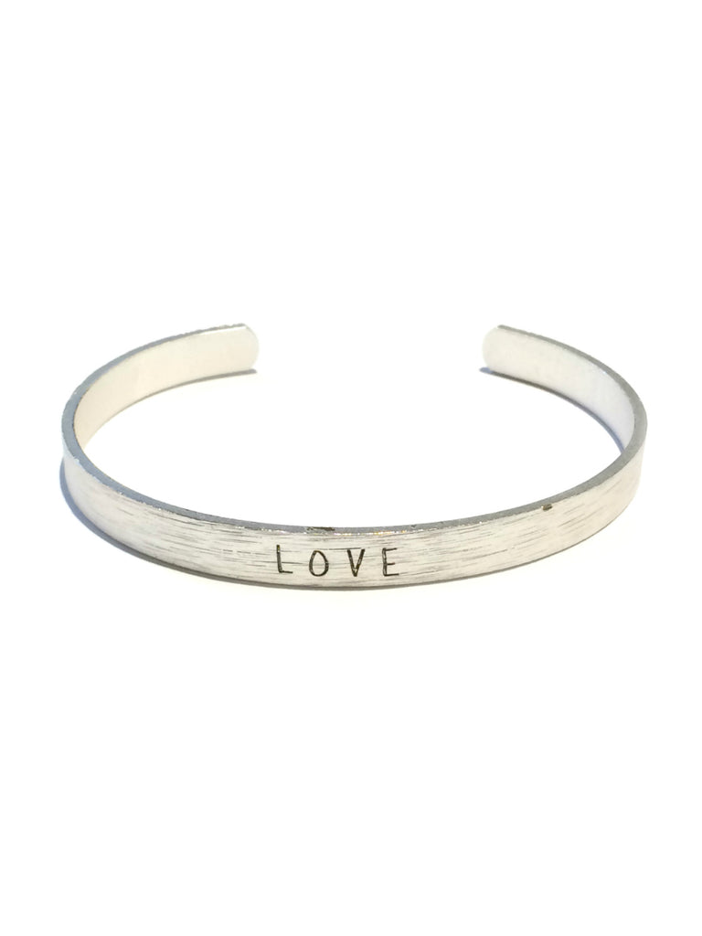"""Love"" Cuff Bracelet 