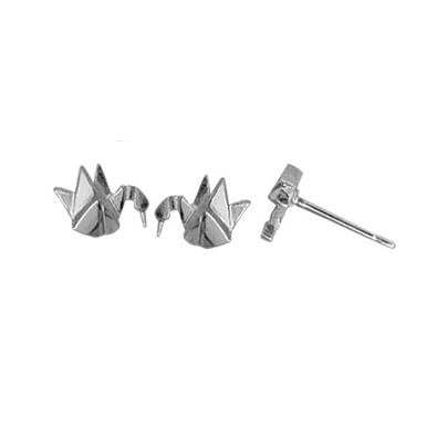 Paper Crane Posts, $10 | Sterling Silver Stud Earring | Light Years
