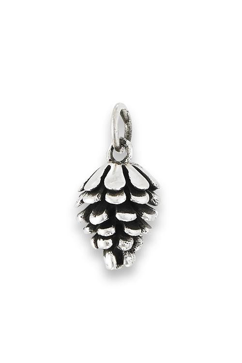 Pine Cone Pendant, $16 | Sterling Silver | Light Years Jewelry