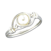 Wrapped Pearl Ring