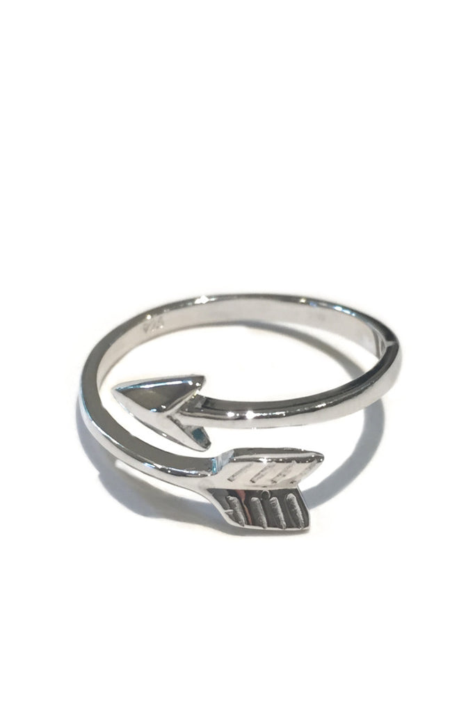 Sterling Silver Arrow Ring, $14 | Light Years Jewelry