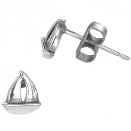 Sailboat Posts $9 | Sterling Silver Stud Earrings | Light Years Jewelry