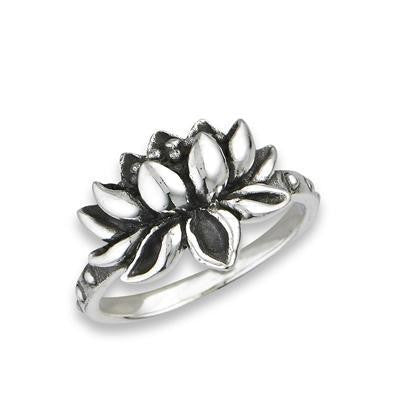 Lotus Ring, $16 | Sterling Silver | Light Years Jewelry