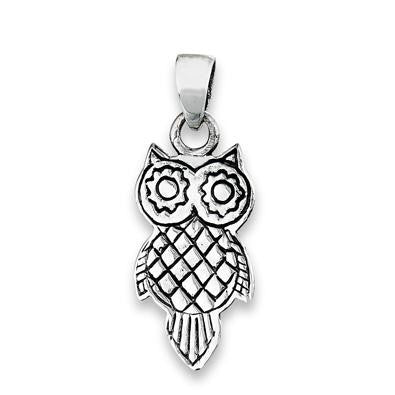 Silver Owl Pendant, $12 | Sterling Silver | Light Years Jewelry