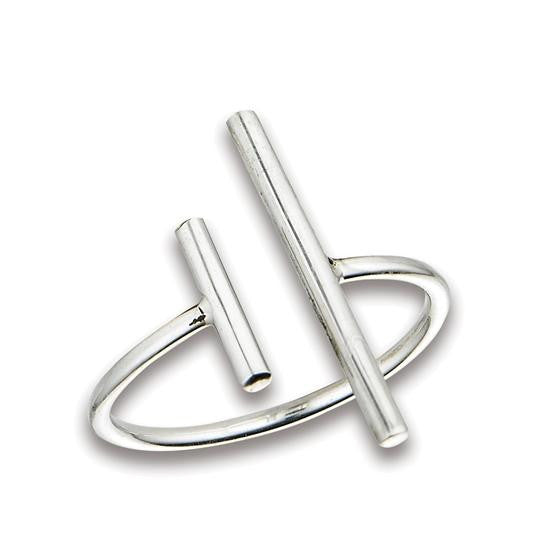Two Bars Ring, $15 | Sterling Silver | Light Years Jewelry