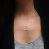 Silver Cross Pendant on Chain, $23 | Necklace | Light Years Jewelry