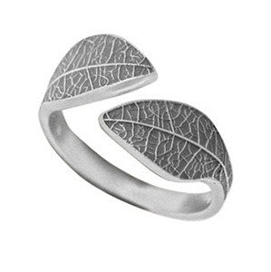 Leaf Ring, $32 | Sterling Silver | Light Years Jewelry