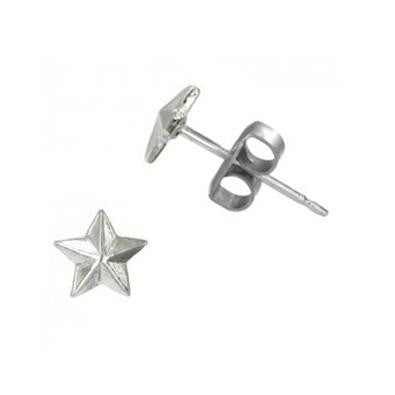 Sterling Silver Star Posts, $9 | Stud Earrings | Light Years Jewelry