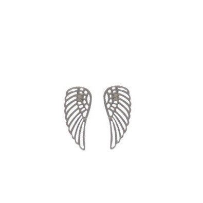Silver Wings Posts, $10 | Sterling Stud Earrings | Light Years Jewelry
