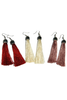 Tassel Dangles with Crystals, $12 | Many Colors! | Light Years Jewelry