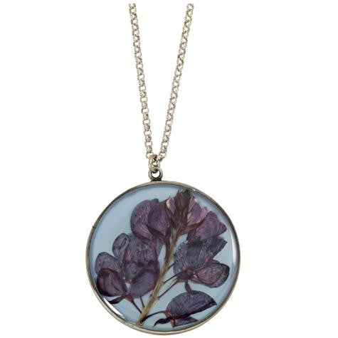 Texas Bluebonnet Pendant, $44 | Light Years Jewelry