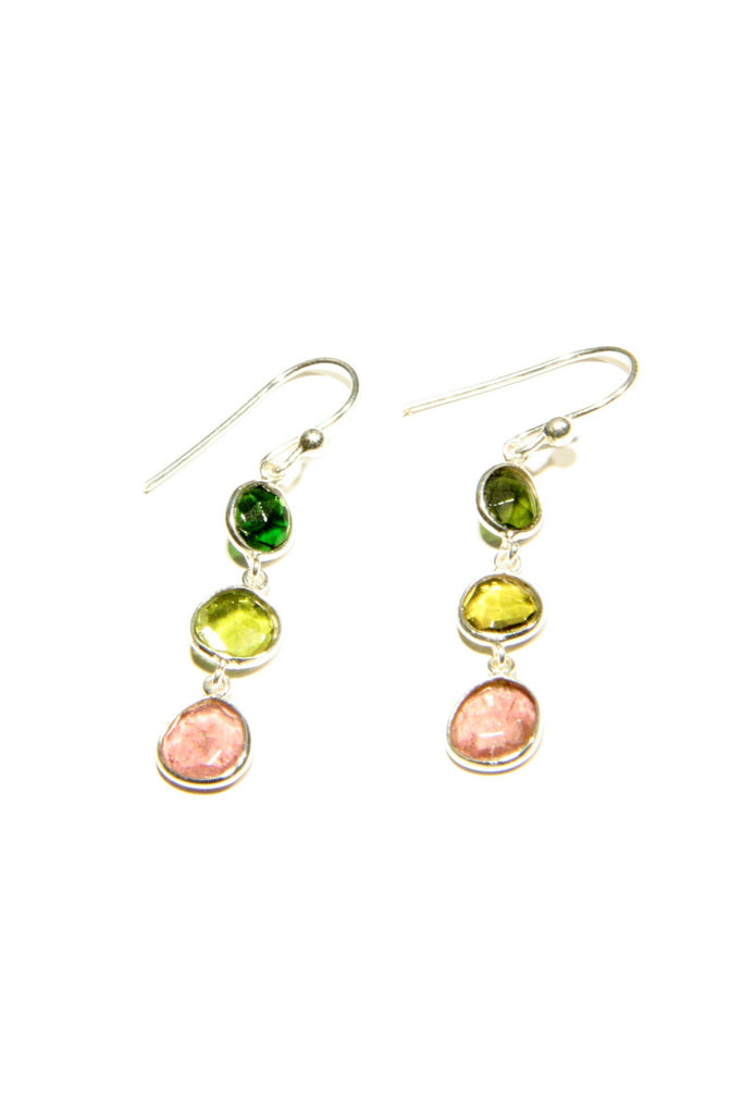 Triple Tourmaline Dangles, $28 | Light Years Jewelry