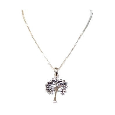Silver Tree Necklace, $30 | Sterling Silver Chain | Light Years Jewelry