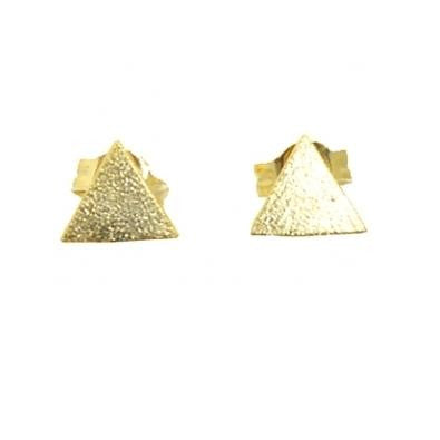 Triangle Posts, $11  | Gold Vermeil Stud Earrings | Light Years Jewelry