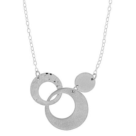 Triple Circle Necklace, $32 | Sterling Silver | Light Years Jewelry