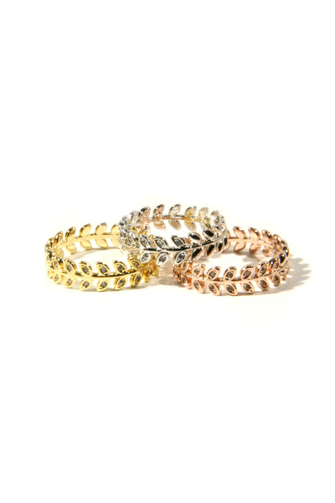 CZ Vine Ring, $10 | Size 7,8 | Silver, Gold, Rose Gold | Light Years