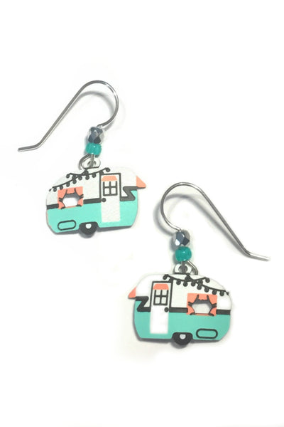 Vintage Camper Earrings by Sienna Sky
